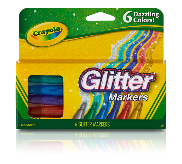 Crayola Glitter Markers - Unusual Finds Discount Store