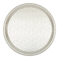 "12"" ROUND ALUMINUM SERVER TRAY - Unusual Finds Discount Store"