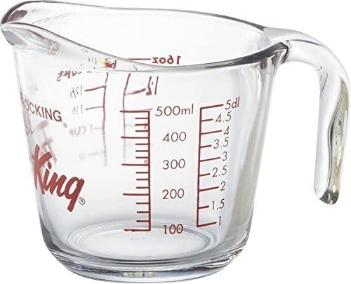 Fire King Glass MEASURING CUP 500ml - Unusual Finds Discount Store