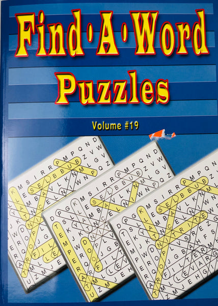 FIND A WORD PUZZLE BOOK - Unusual Finds Discount Store