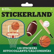 SPORTS STICKERLAND PAD - Unusual Finds Discount Store