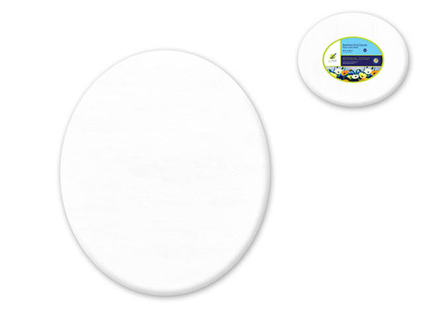 "Stretched Canvas OVAL 12"" x 16"" - Unusual Finds Discount Store"