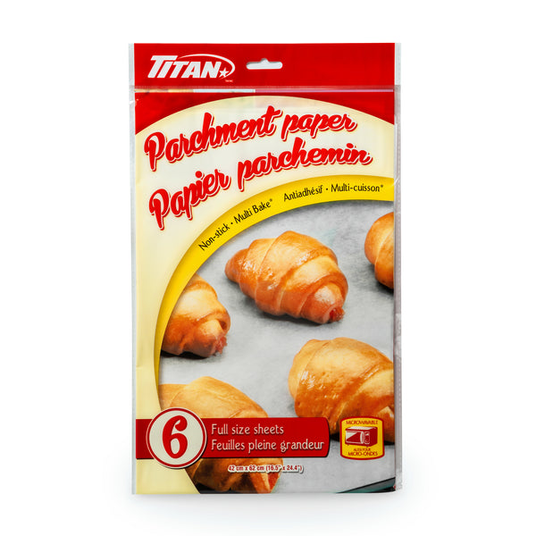 PARCHMENT PAPER 6 FULL SHEETS - Unusual Finds Discount Store