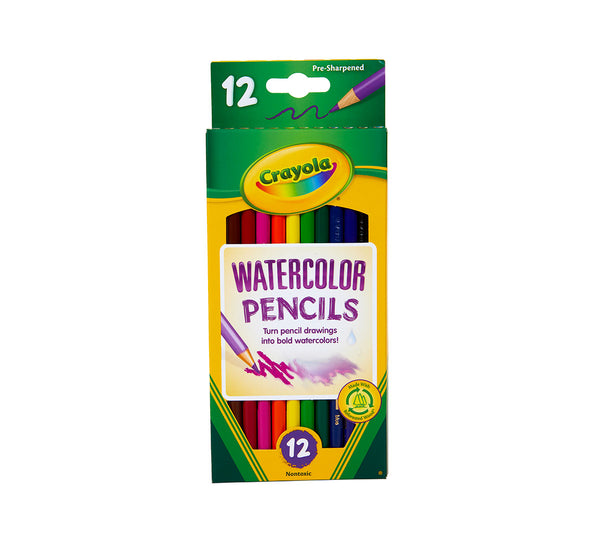 Crayola Watercolor Sharpened Pencils - Unusual Finds Discount Store