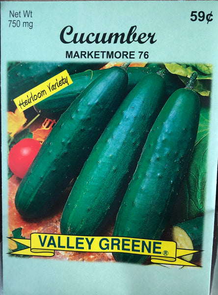 CUCUMBER GARDEN SEEDS - Unusual Finds Discount Store