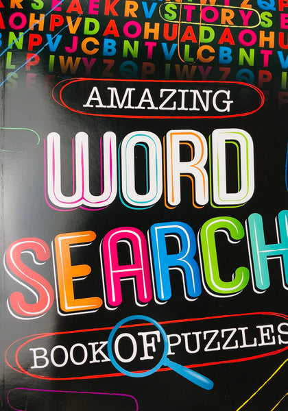 AMAZING WORD SEARCH BOOK OF PUZZLES - Unusual Finds Discount Store