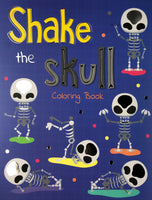 SHAKE THE SKULL ADULT COLORING BOOK - Unusual Finds Discount Store