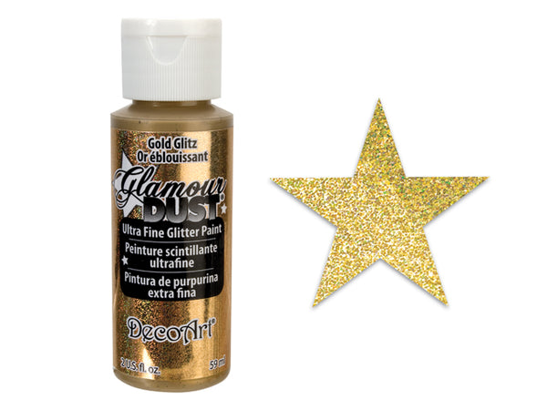 GLAMOUR DUST ULTRA FINE GLITTER PAINT Click Here for More Colors - Unusual Finds Discount Store