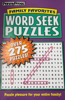 JUMBO PENNY PRESS WORD SEEK PUZZLES - Unusual Finds Discount Store