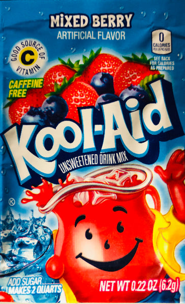 KOOL-AID MIXED BEERY SINGLE PACKET - Unusual Finds Discount Store