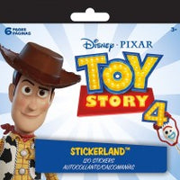 TOY STORY 4 STICKERLAND PAD - Unusual Finds Discount Store