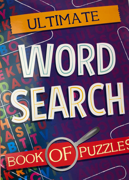 ULTIMATE WORD FIND BOOK OF PUZZLES - Unusual Finds Discount Store