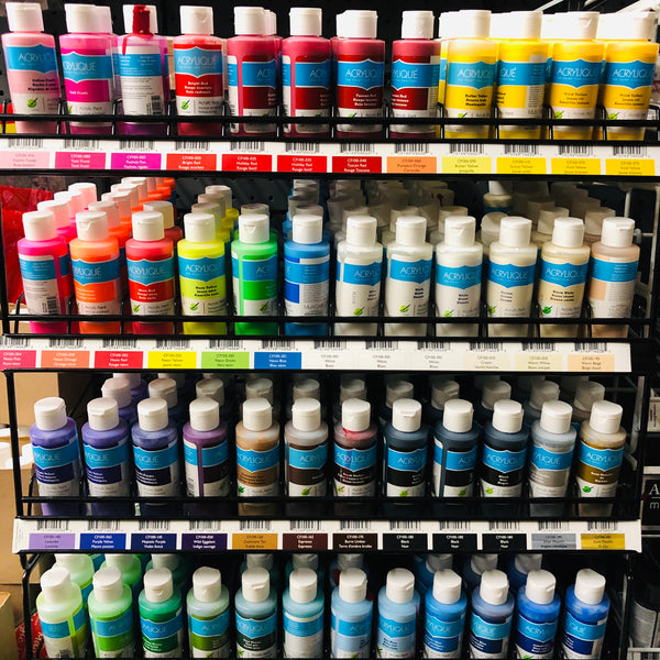 ACRYLIC PAINT Click Here for More Colors - Unusual Finds Discount Store
