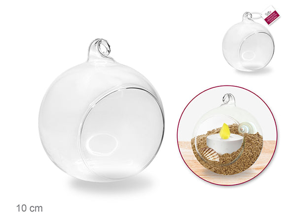 GLASS TERRARIUM ORNAMENT 10cm - Unusual Finds Discount Store