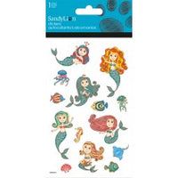 MERMAID FISH GLITTER STICKERS - Unusual Finds Discount Store