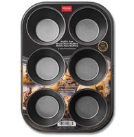 6 CUP MUFFIN PAN - Unusual Finds Discount Store