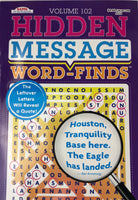 HIDDEN MESSAGE WORD FIND. VOLUME 102 - Unusual Finds Discount Store