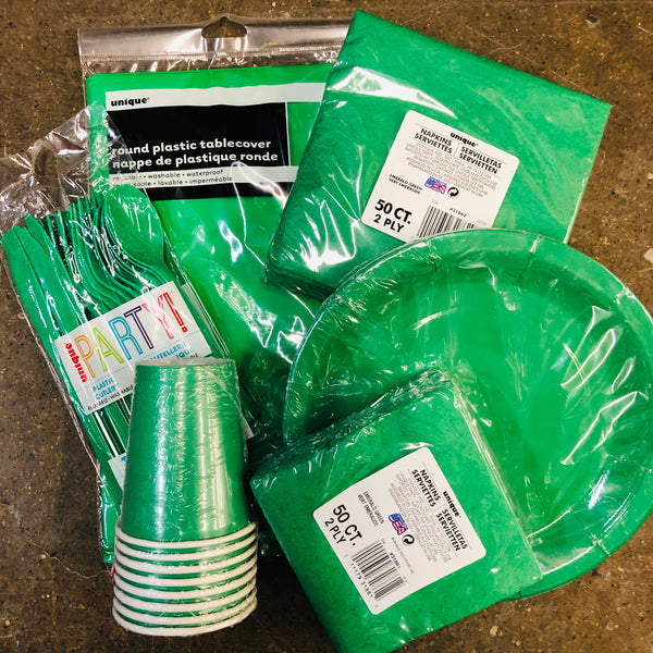 EMERALD GREEN TABLEWARE - Unusual Finds Discount Store