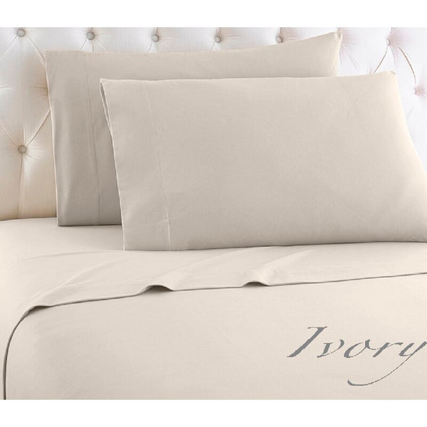Cream Cozy Spun SHEET SET - Unusual Finds Discount Store