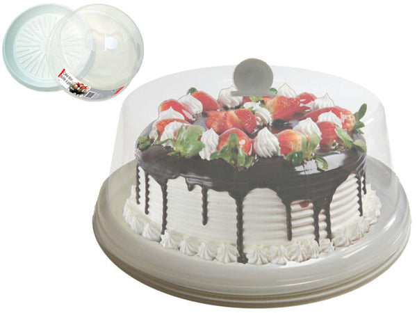 CAKE BOX PLASTIC TRAY AND LID - Unusual Finds Discount Store