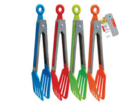 DELUXE FOOD TONGS 4 assorted colors - Unusual Finds Discount Store