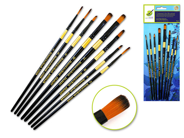 ORIENTAL ART PAINT BRUSH SETS - Unusual Finds Discount Store