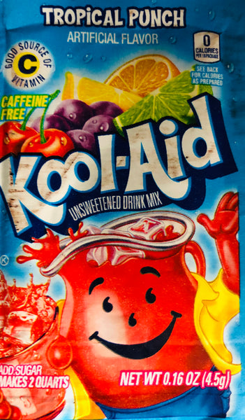 KOOL-AID TROPICAL PUNCH SINGLE PACKET - Unusual Finds Discount Store