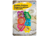 COOKIE CUTTERS ASSORTED SHAPES 6pc - Unusual Finds Discount Store