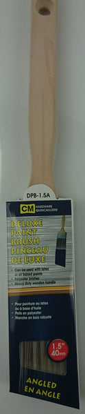 Deluxe Angled Paint  Brush 1.5 in - Unusual Finds Discount Store