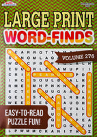 LARGE PRINT WORD FIND KAPPA PUZZLE BOOK - Unusual Finds Discount Store