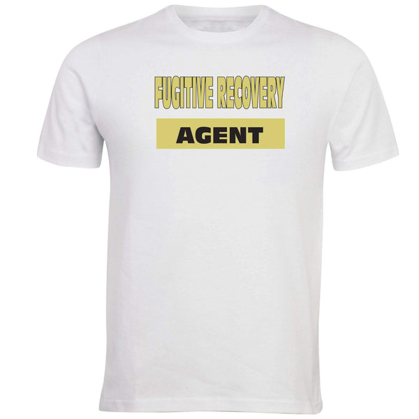 Fugitive Recovery Agent T-shirt - Unusual Finds Discount Store