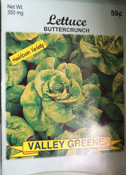 LETTUCE GARDEN SEEDS - Unusual Finds Discount Store