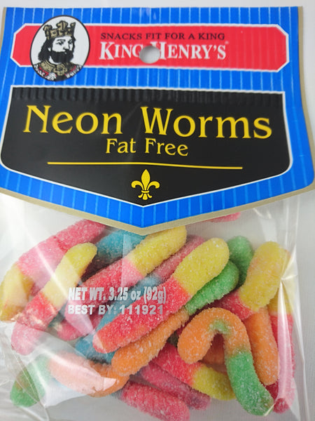 Neon Worms - Unusual Finds Discount Store