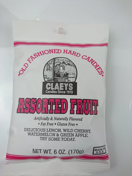 Old Fashioned Hard Candy Assorted Fruit - Unusual Finds Discount Store