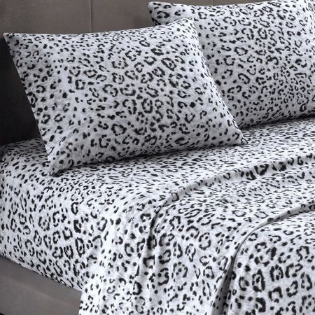 LEOPARD Sheet Set-Cozy Spun - Unusual Finds Discount Store