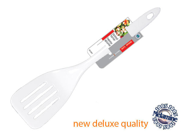 MELAMINE SLOTTED TURNER (WHITE) - Unusual Finds Discount Store