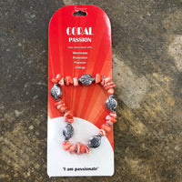 Coral Passion Bracelet- Im Passionate - Unusual Finds Discount Store