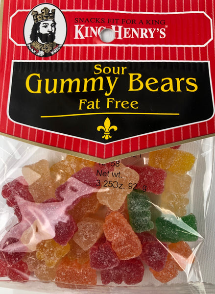 Sour Gummy Bears Fat Free - Unusual Finds Discount Store