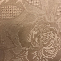 Gold large Rose Damask Tablecloth 52 by 70 - Unusual Finds Discount Store