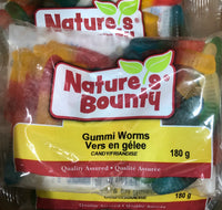 Gummi Worms BAGGED 180g - Unusual Finds Discount Store