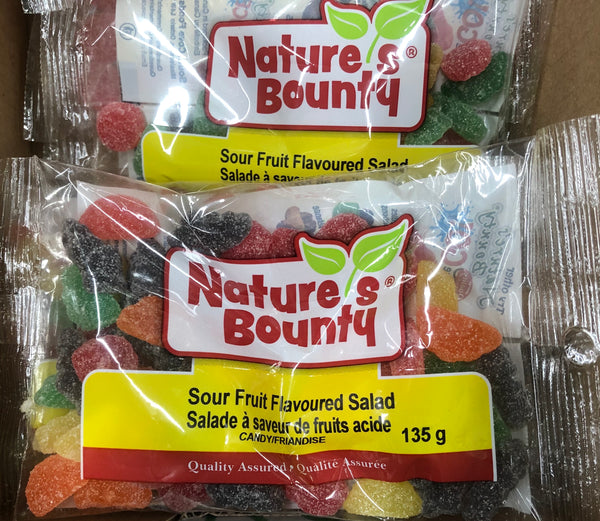 Sour Fruit Flavoured Salad 135g - Unusual Finds Discount Store