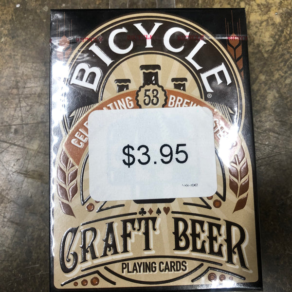 Bicycle Craft Beer Playing Cards - Unusual Finds Discount Store
