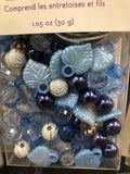 Luxe Bead Kit Blue - Unusual Finds Discount Store