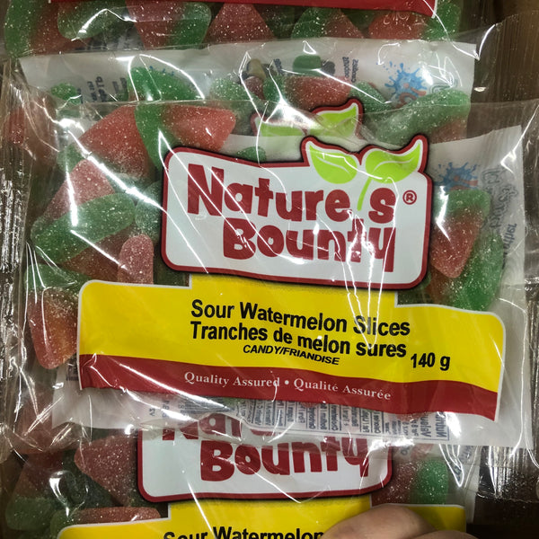 Sour Watermelon Slices 140g - Unusual Finds Discount Store