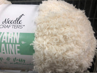 Soft And Fluffy Yarn Cream - Unusual Finds Discount Store