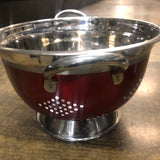 Colander Stainless steel Designer - Unusual Finds Discount Store