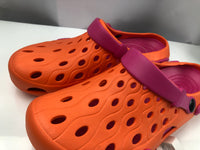 Clogs Orange and Fuchsia - Unusual Finds Discount Store
