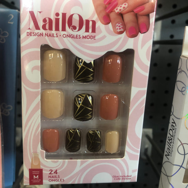 Glue on 7 Day Wear Faux Nails - Unusual Finds Discount Store