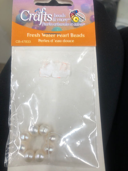 Fresh Water Pearl Beads- white - Unusual Finds Discount Store