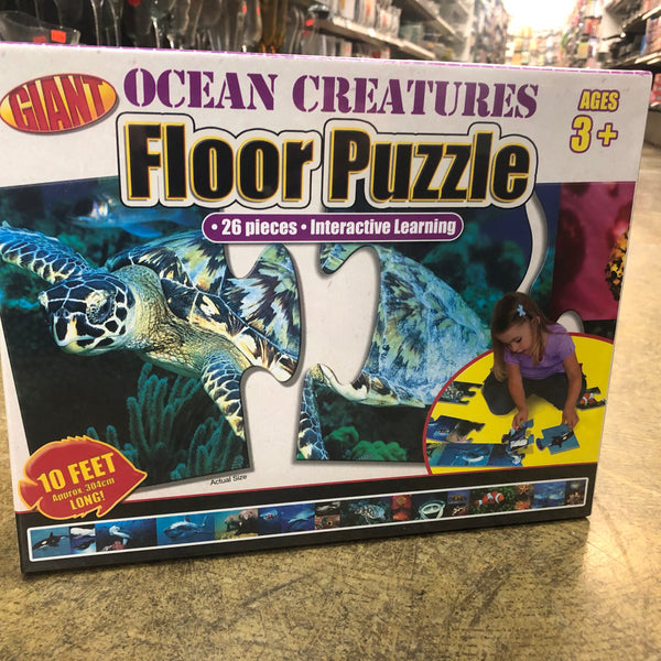 Floor Puzzle Sea Creature 10 feet - Unusual Finds Discount Store